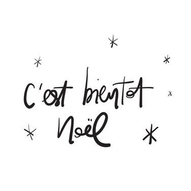 Bientot Noël (Pinterest)