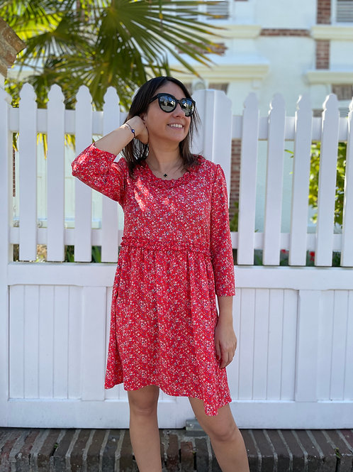 Robe Hannah rouge