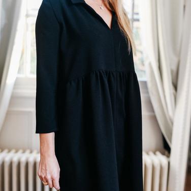 Robe Garance Noire - 145€
