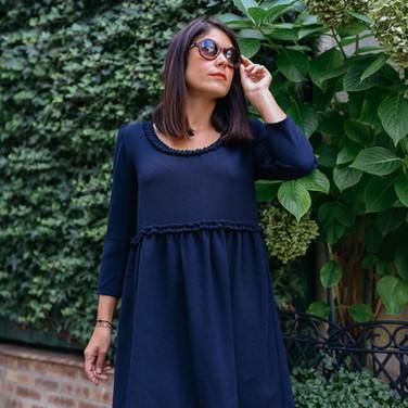Robe Hannah Bleu Marine - 125€