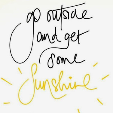 Sunshine - Source Pinterest