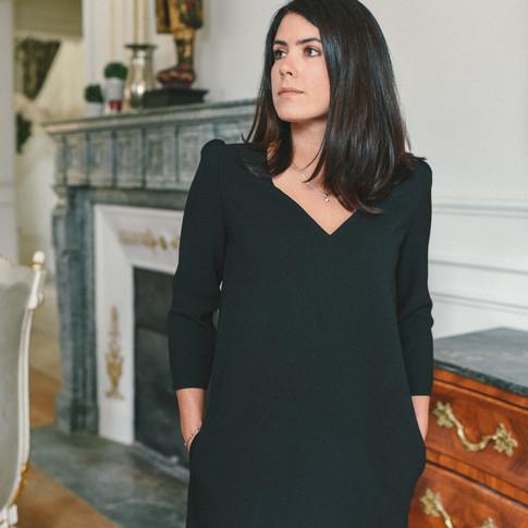 Robe Gaia Noire - 125€