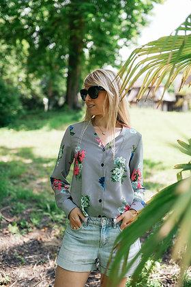Chemise Louise fleurs