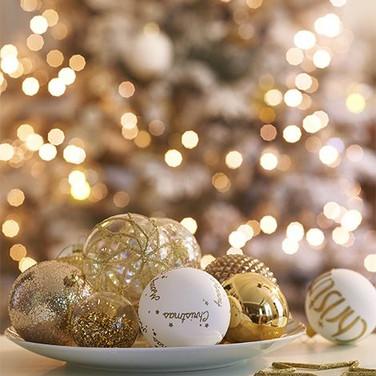 Gold Christmas - Pinterest