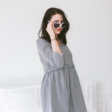 Robe Hannah Vichy - 125€
