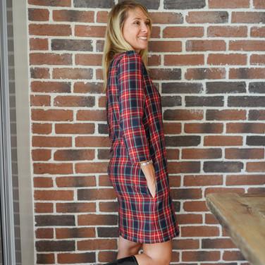 Robe Gaia Écossaise - 120€