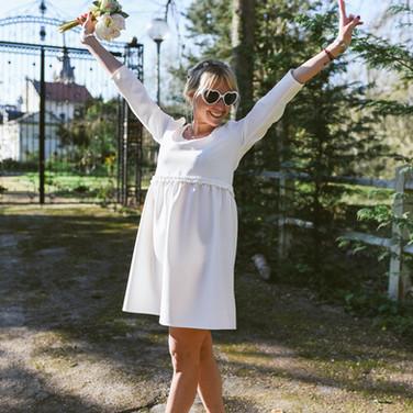 Robe Hannah Blanche - 125€