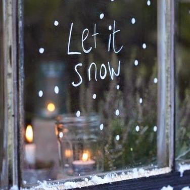 Let it Snow (Pinterest)