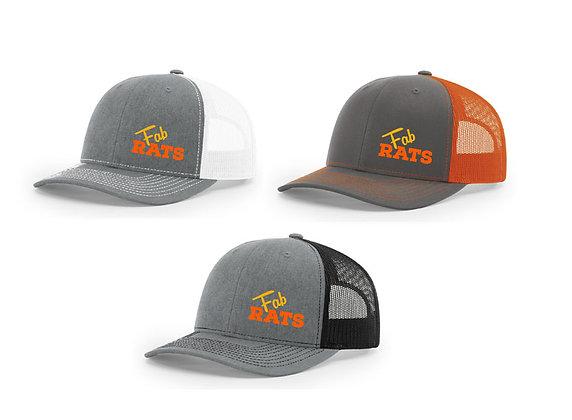 Original Fab Rats Logo Trucker Snapbacks