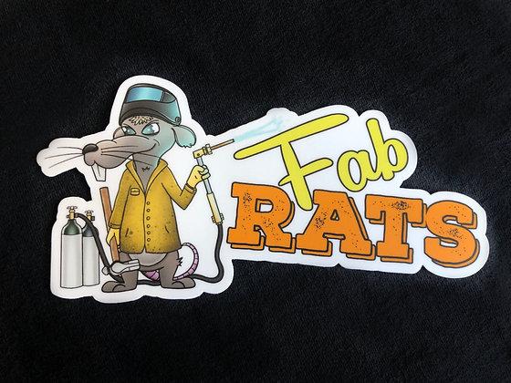 Fab Rat Sticker