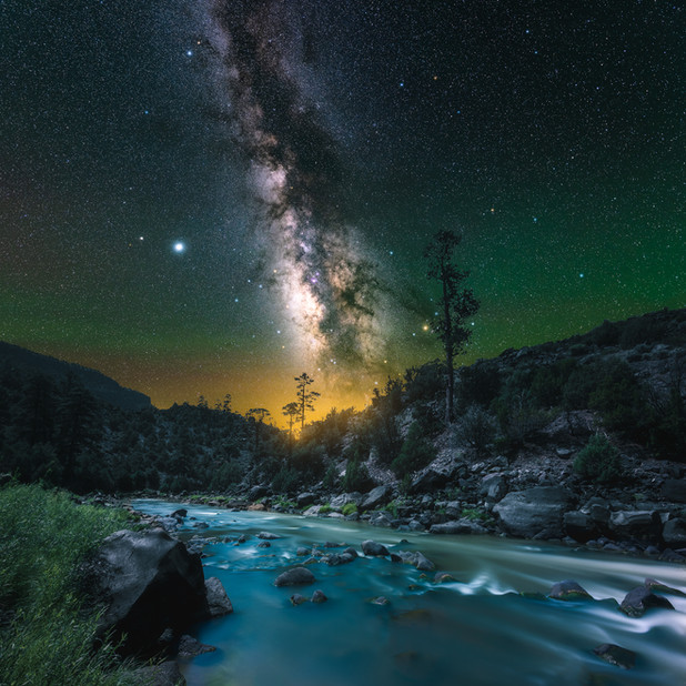 Starry Night at the Gorge