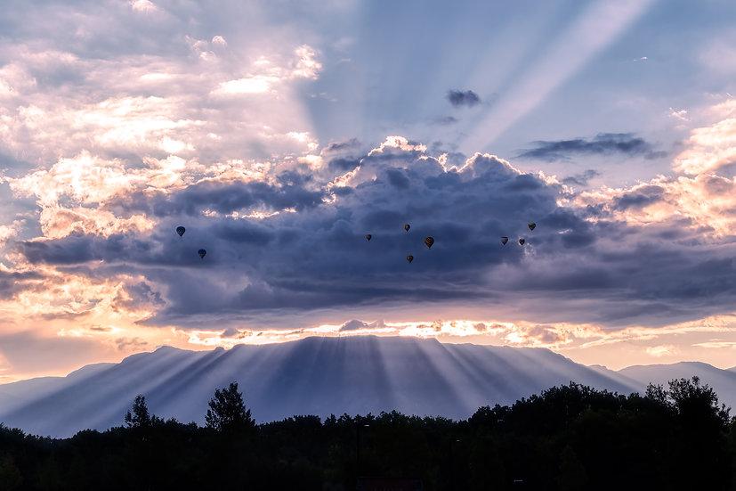 Sandia Light Rays