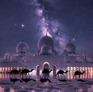 Grand Mosque Milky Way