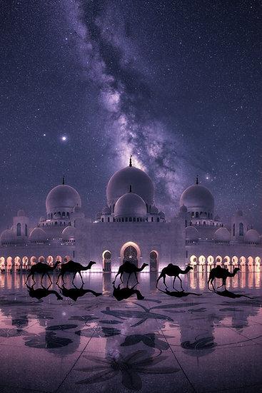 Grande Mosque Milky Way