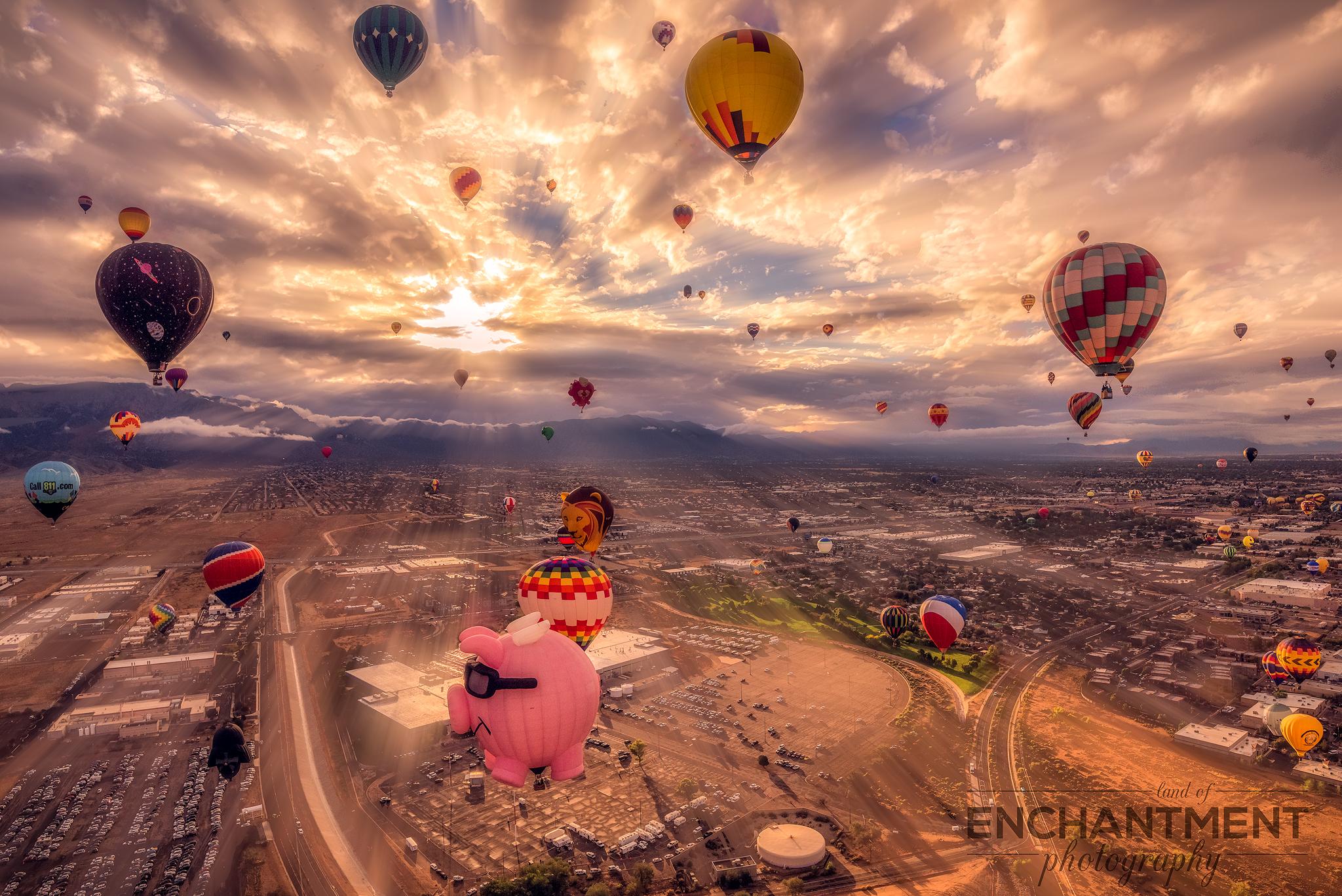 Balloon Rays
