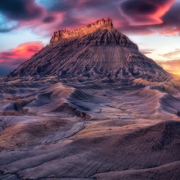 Butte Sunset