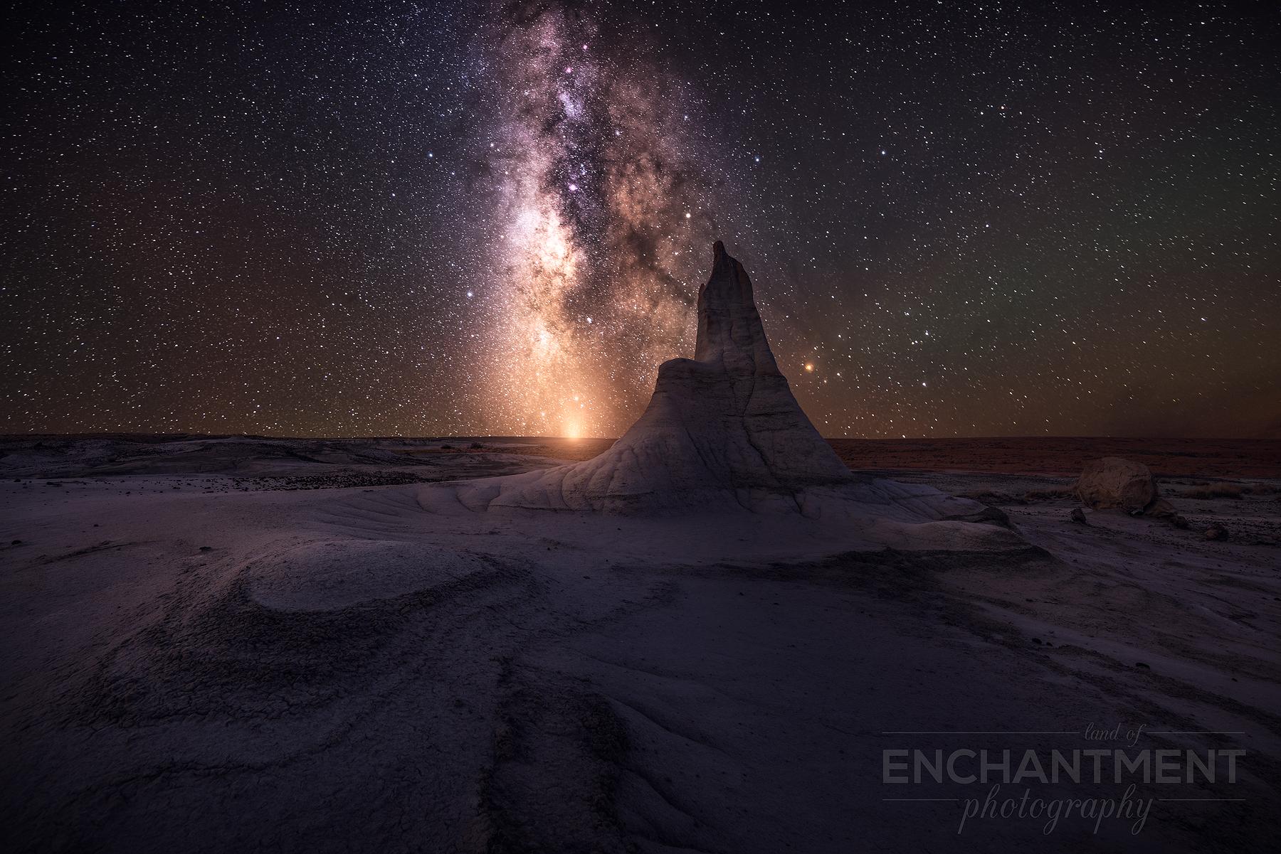 Spire Milky Way