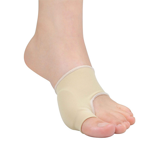 TAKUMED 外反母趾サポーター 薄型 2枚入 抗菌タイプ バイオジェル100%