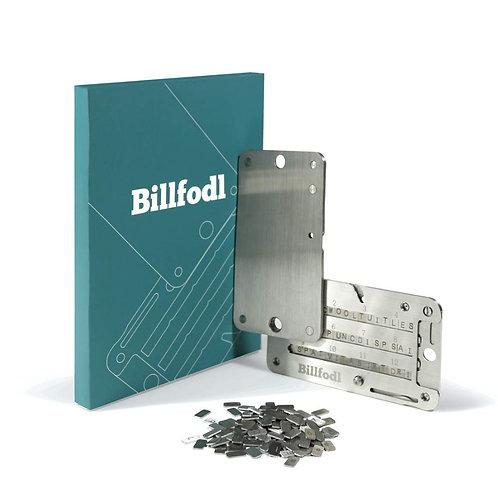 仮想通貨ウォレットのTrezor Oneとシード保管のBillfodlセット