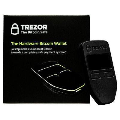 TREZOR BLACK トレザー ブラック(送料無料/ビットコイン決済可能)