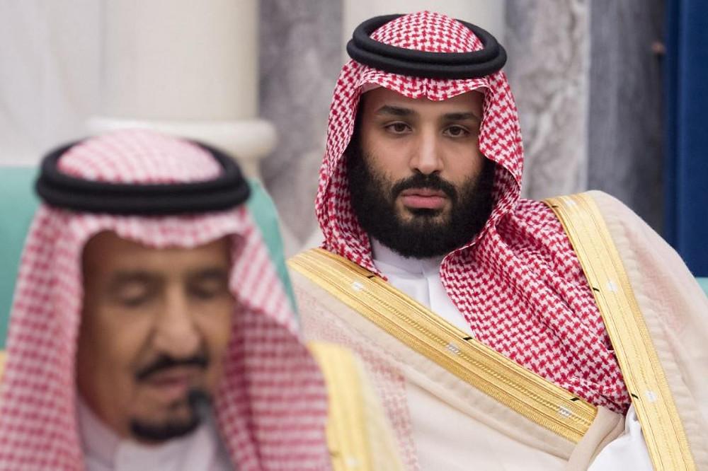 King Salman and MBS