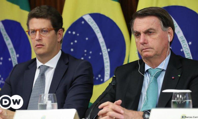 Ricardo Salles and Bolsorano