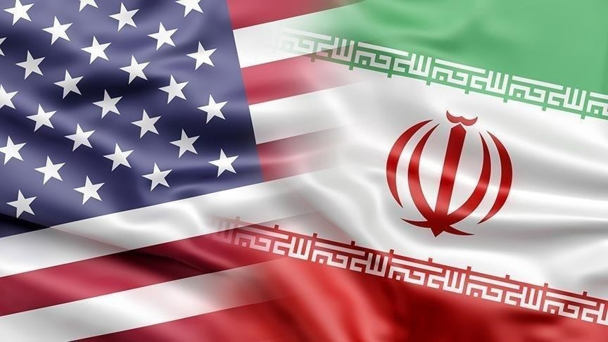 The U.S and Iran flags