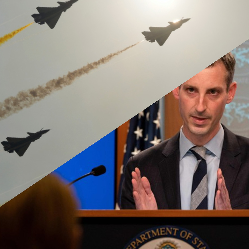 The US State Department Spokesperson, Ned Price