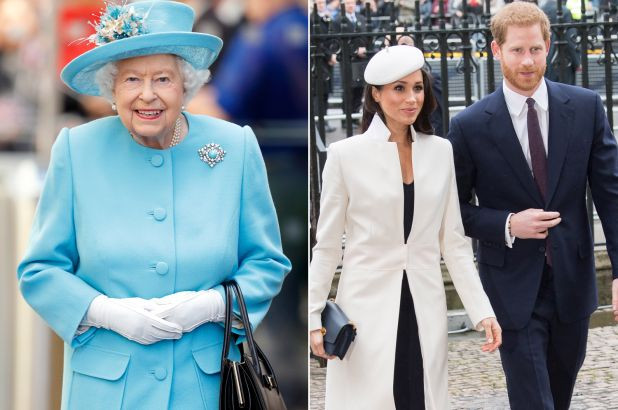 The Queen, Duke and Dutches of Sussex