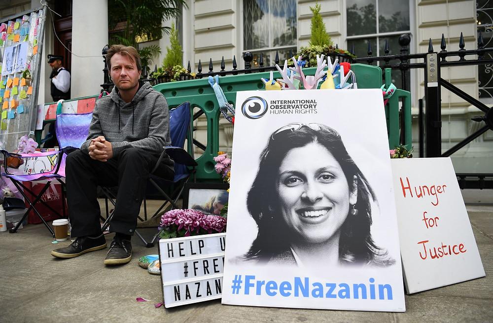 #FreeNazanin poster