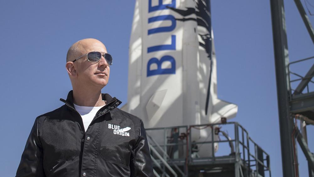 Jeff Bezos Blue Origins