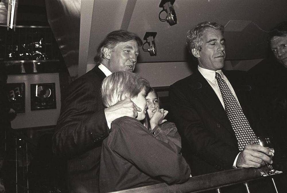 Donald Trump and Jeffrey Epstein