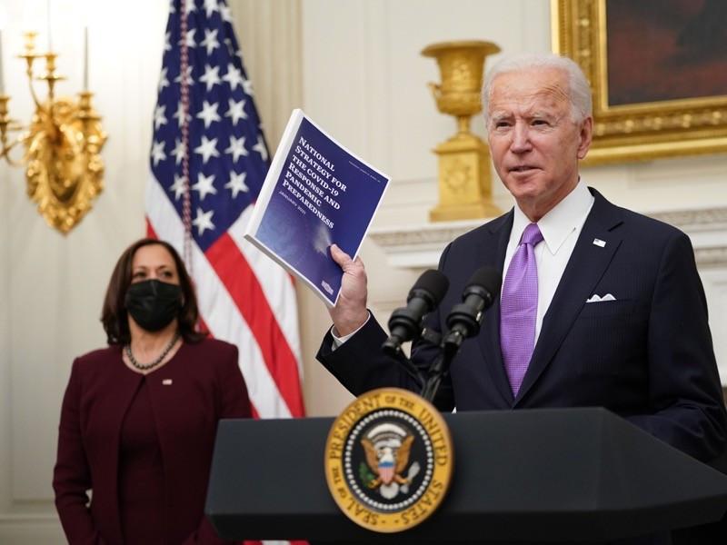 President Biden and Vice President Kamala Harris