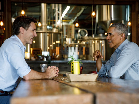 Barack Obama endorses his 'friend' Justin Trudeau four days before elections