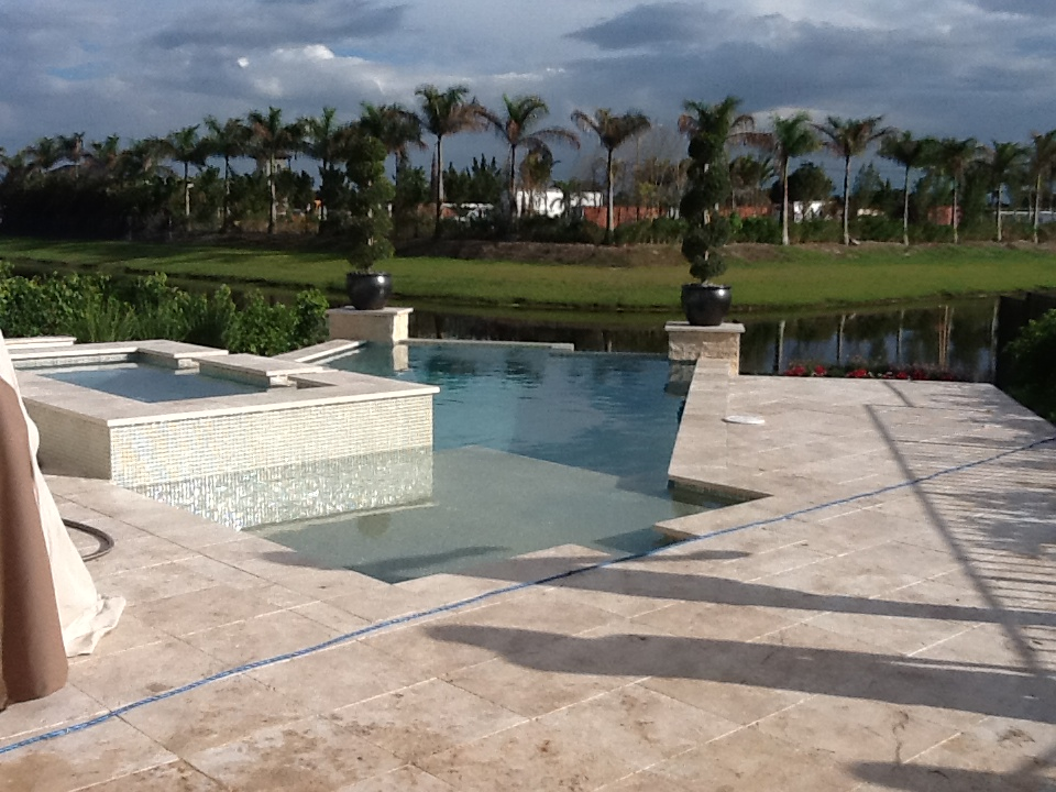 Swimming pools, Outdoor kitchen, out