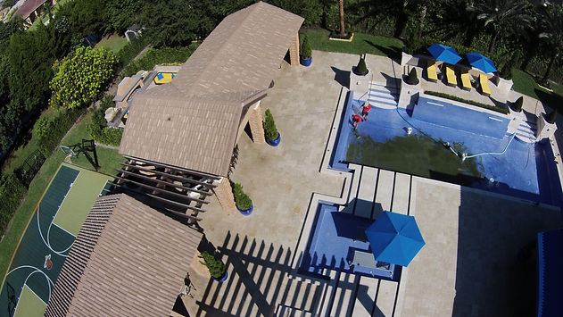 Outdoor living, swimming pool, custom pool, pavilion, oudoor kitchen