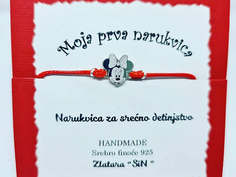 Narukvica Minnie Mouse