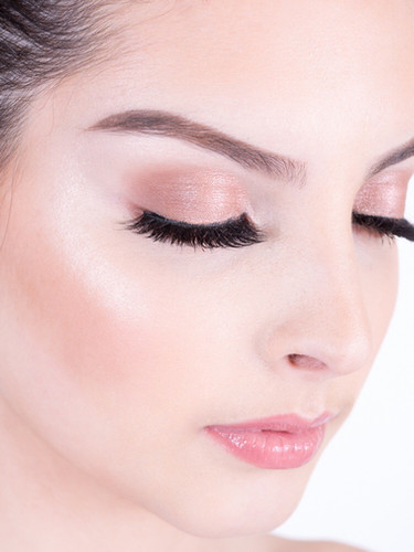 makeup close up