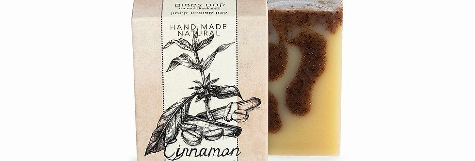 סבון קפוצ׳ינו קינמון - קסם הצמחים