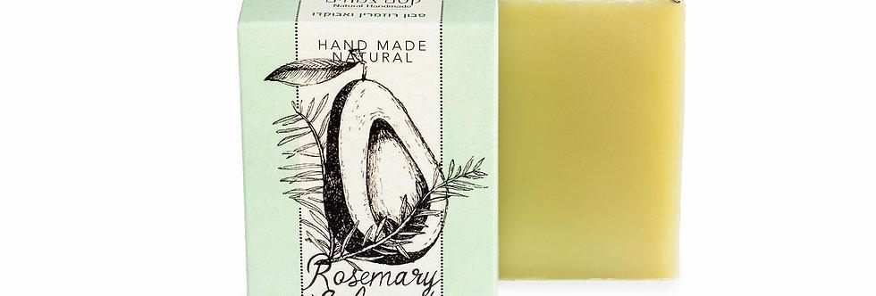 סבון רוזמרין ואבוקדו - קסם הצמחים