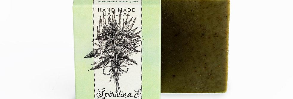 סבון מנטה וספירולינה - קסם הצמחים