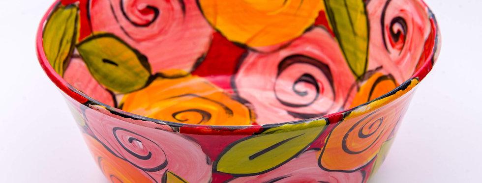 קערת פרחים - איריס בלום