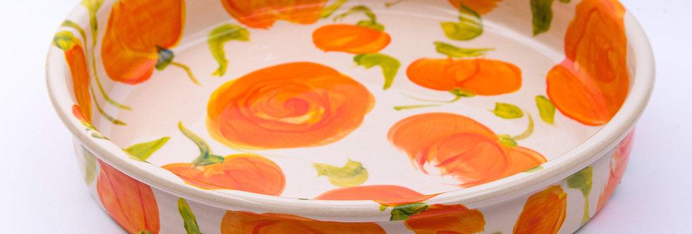 תבנית פאי פרחים - איריס בלום