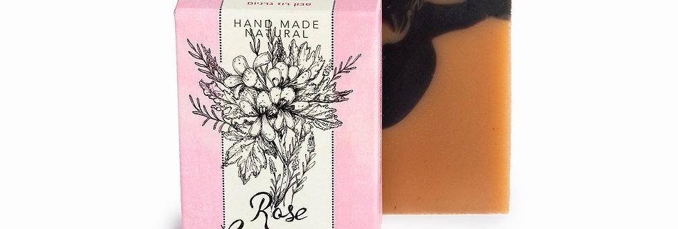 סבון טבעי רוז גרניום - קסם הצמחים