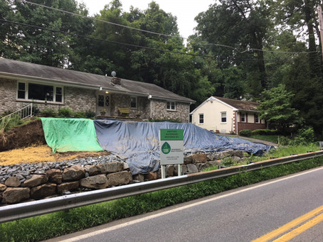 Historic rain causes severe damage to Baltimore County resident's home