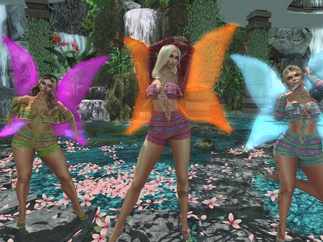 Butterfly Girls Being Sassy Girls.♔#259♔