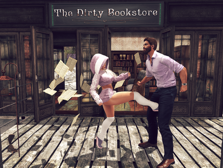 Caught @ The Dirty Bookstore.♔299♔