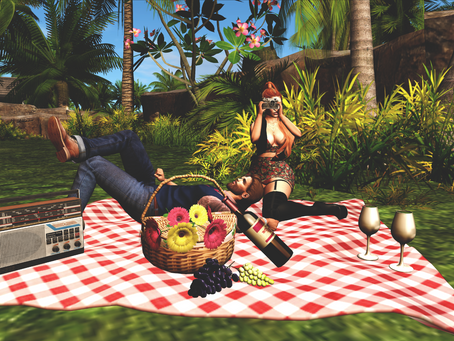 A Picnic For Two.♔297♔