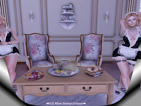 Tea For Two.♔414♔