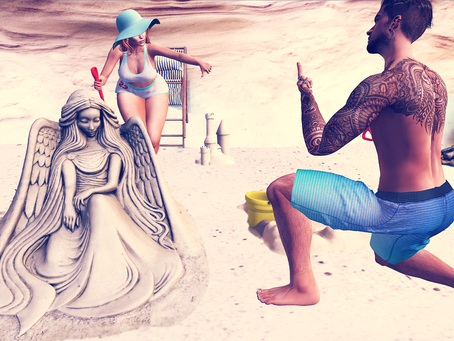 Sharing Some Beach Vibes.♔#253♔